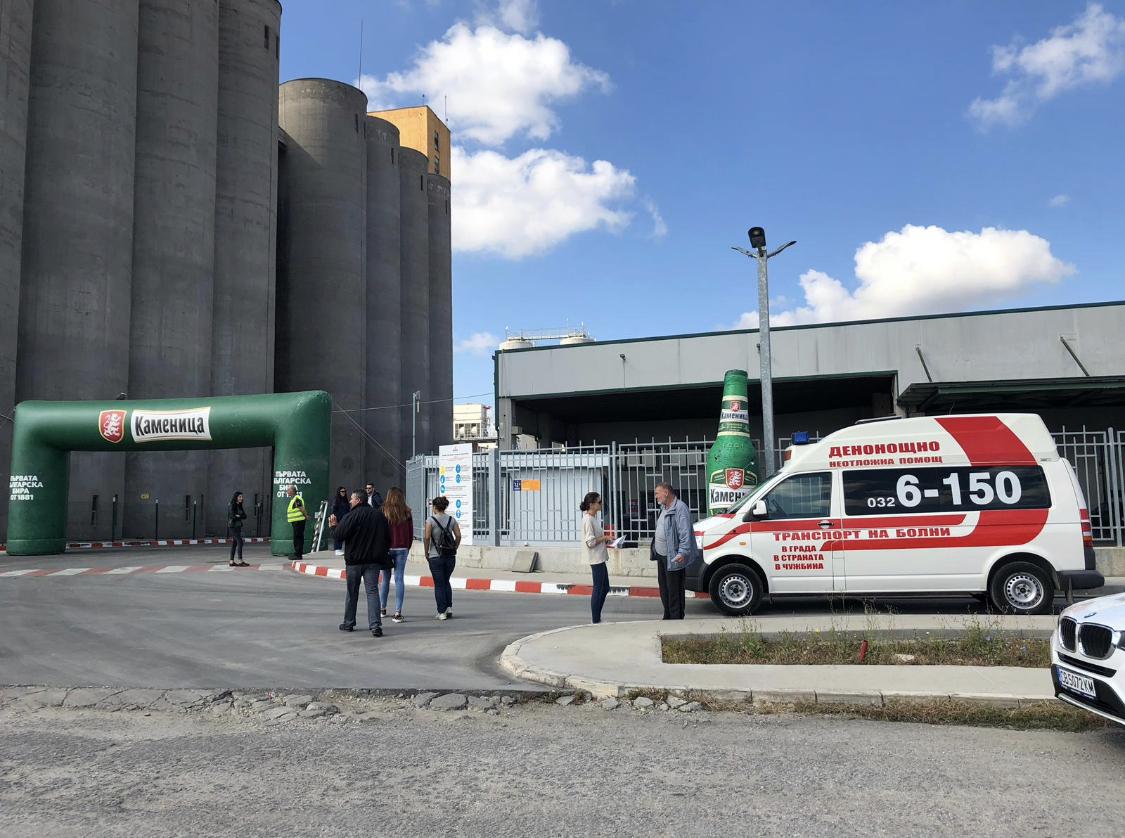 Линейка Пловдив 6 150 осигурява присъствие в деня на отворените врати на Каменица